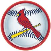 "St Louis Cardinals 9"" Plates - 18 Pack"