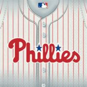 Phillies Lunch Napkins - 36 Pack