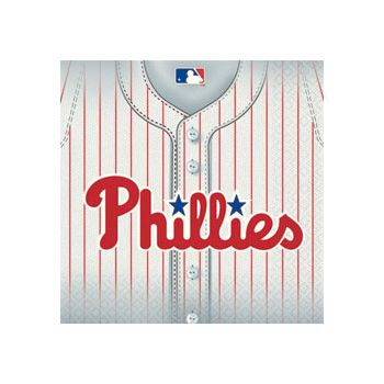 PHILLIES LUNCH NAPKINS