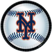 "New York Mets 9"" Plates - 18 Per Unit"