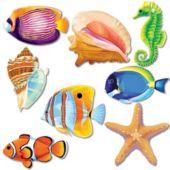 Sea Life Cutouts-30 Pack