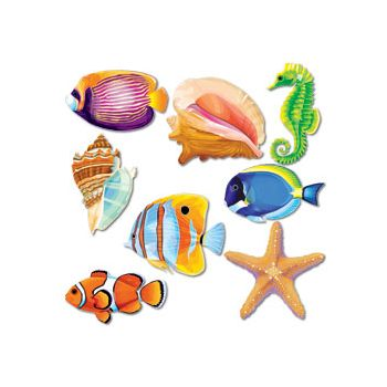 SEA LIFE CUTOUTS