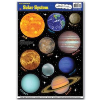 SOLAR SYSTEM CLINGS