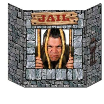 WESTERN JAIL PHOTO PROP