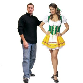 BEER GARDEN GIRL LIFE SIZE STAND UP