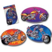 Motorcycle Chopper Cutouts-3 Pack