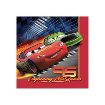 DISNEY CARS BEVERAGE NAPKINS
