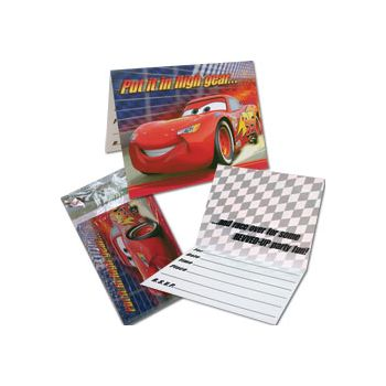 DISNEY CARS INVITATIONS