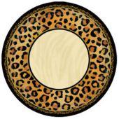 "Animal Print 10 1/2"" Plates - 8 Pack"