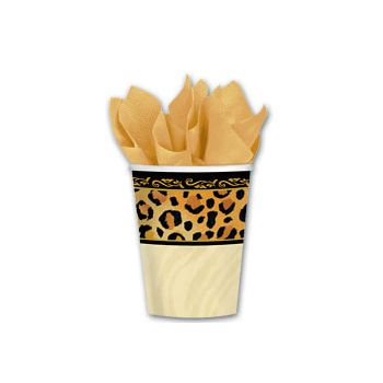 ANIMAL PRINT 9 oz. CUPS