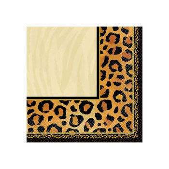 ANIMAL PRINT LUNCH NAPKINS
