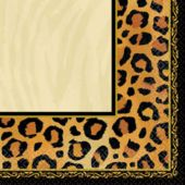 Animal Print Beverage Napkins - 16 Pack
