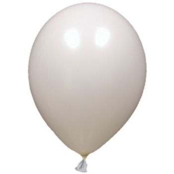 White Pearl Latex Balloons - 12 Inch, 100 Pack