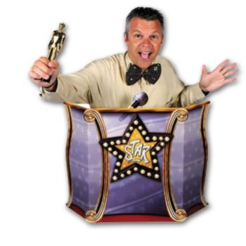 STAR PODIUM  PHOTO PROP