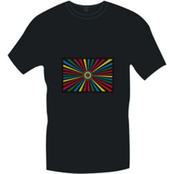 Kaleidoscope LED T-Shirt