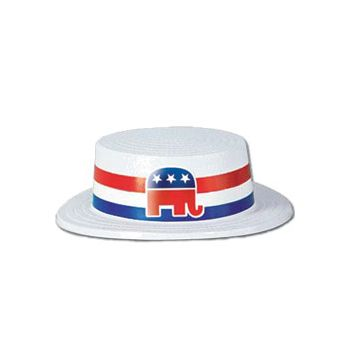 REPUBLICAN  SKIMMER HAT