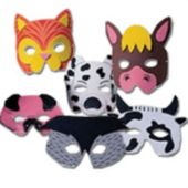 Farm Animal Masks - 12 Pack