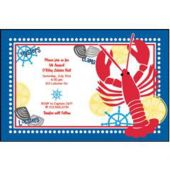 Lobsterfest Personalized Invitations