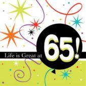 65 Life Is Great Beverage Napkins