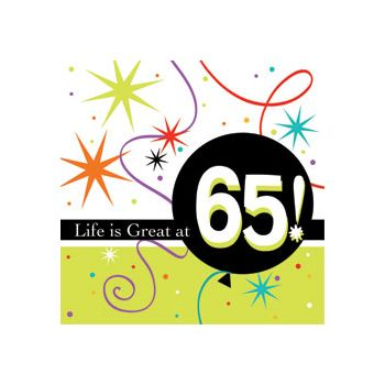 65 LIFE IS GREAT BEVERAGE NAPKINS