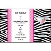 Girls Night Out Personalized Invitations