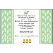 New Baby Personalized Invitations