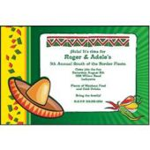 Fiesta Time Personalized Invitations