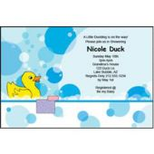 Splish Splash Personalized Invitations
