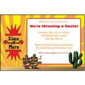 Cinco de Mayo Personalized Invitations