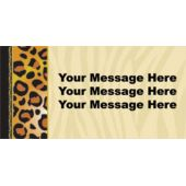 ANIMAL PRINT CUSTOM BANNER (Variety of Sizes)