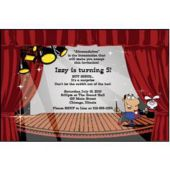 Magic Show Personalized Invitations
