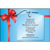 Tied With A Bow Personalized Invitations