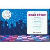 Disco Dance Floor Personalized Invitations