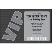 Vip Personalized Invitations
