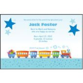 Choo Choo Train Personalized Invitations