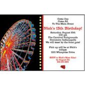 Carnival Personalized Invitations