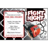 Boxing Night Personalized Invitations