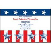 Patriotic Events Personalized Invitations