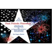 Fireworks  Personalized Invitations
