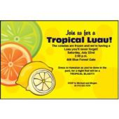 Lemons & Limes Personalized Invitations