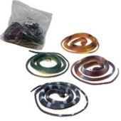 """Plastic Snakes-42""""-12 Pack"""