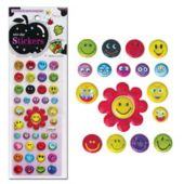 "Smiley Face 1/2"" Stickers - 468 Pack"