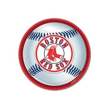 "BOSTON RED SOX 9"" PLATES"