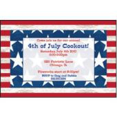 Americana Personalized Invitations