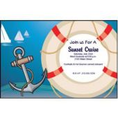 Nautical Yachts Personalized Invitations