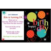 Birthdays Are Great Personalized Invitations