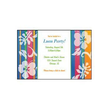 Bahama Breeze Personalized Invitations