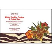 Safari Chic Personalized Invitations