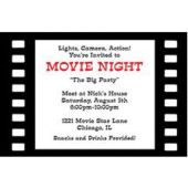 Film Roll Personalized Invitations