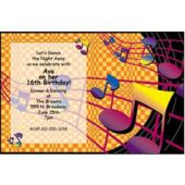 Blast From The Past Personalized Invitations